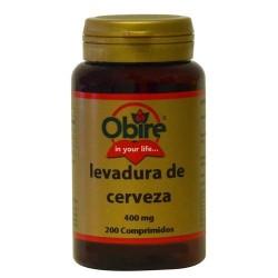 LEVADURA DE CERVEZA 400 MG....