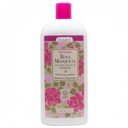 gel de baño eco rosa mosqueta 500 ml drasanvi