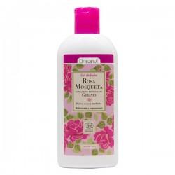 gel de baño eco rosa mosqueta 250 ml drasanvi