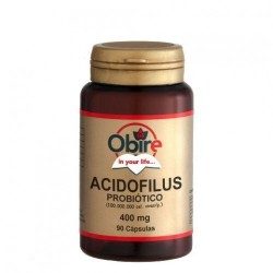 ACIDOFILUS 400 MG. 90 C. OBIRE