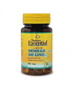 Aceite Semilla Lino 500 mg....
