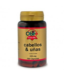 Cabellos y Uñas 225 mg. 100...