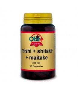 Reishi Shitake y Maitake...
