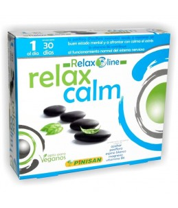Relax Calm 30 Cápsulas Pinisan
